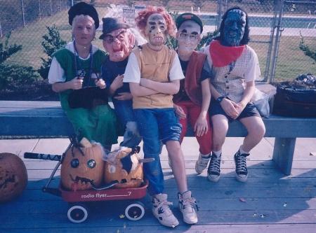 Ian, Ben, Nick, Aaron and Neil