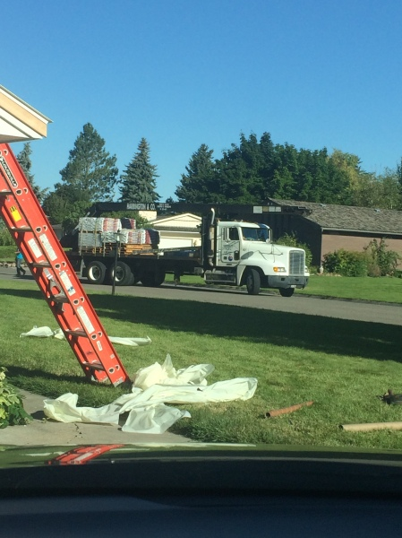 Here comes the shingles!