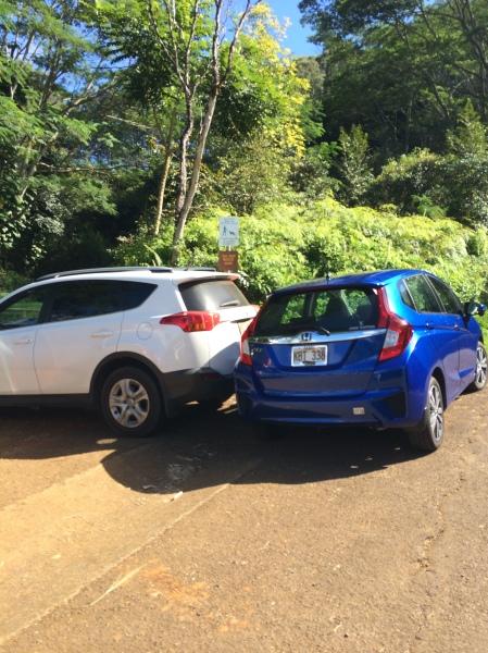 Not blocking car blocking gate