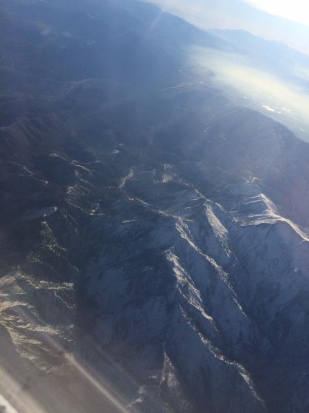 Over the Sierra Nevada's?