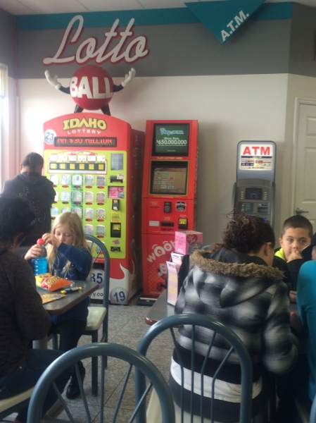 Your Utah Lottery ticket headquarters, complete with ATM!