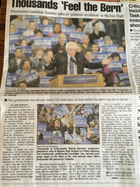 'Feel the Bern!'