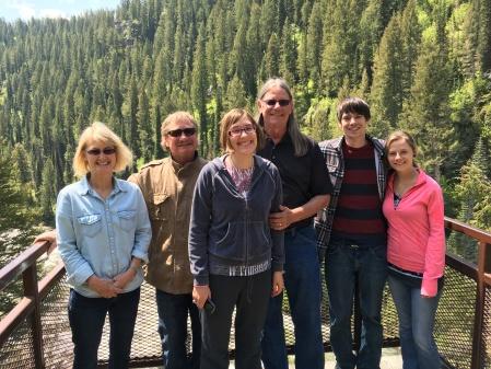 Jody, Eric, Megan, David, Ben, Rhonda