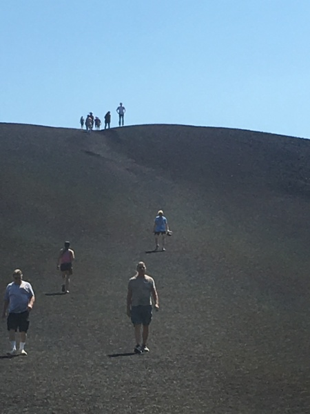 Family portrait on Inferno Cinder Cone