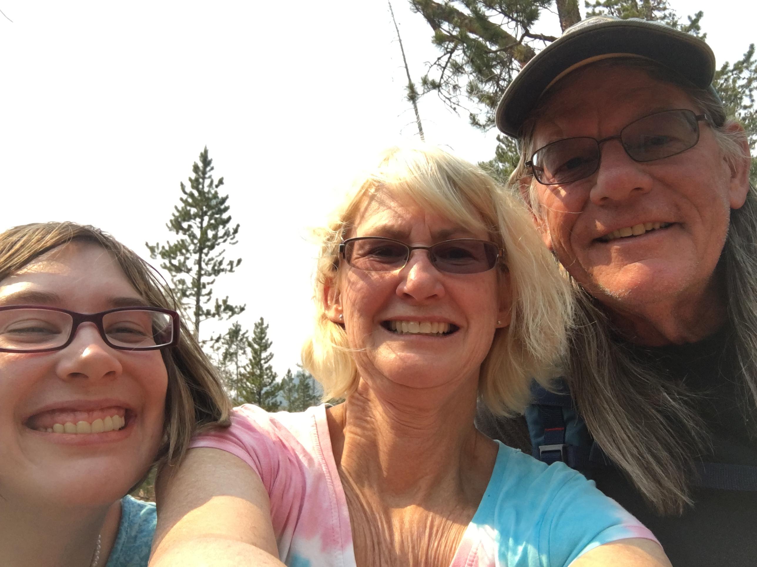 Megan, Jody, David