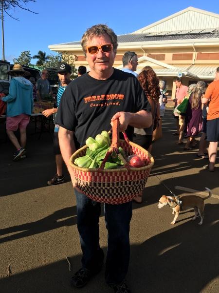 Fresh organic produce!